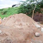 The Water Project: Utuneni Community -  Sand Dam Construction