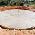The Water Project: Muunguu Primary School -  Tank Foundation