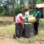 The Water Project: Madegwa Primary School -  Delivering Water For Construction