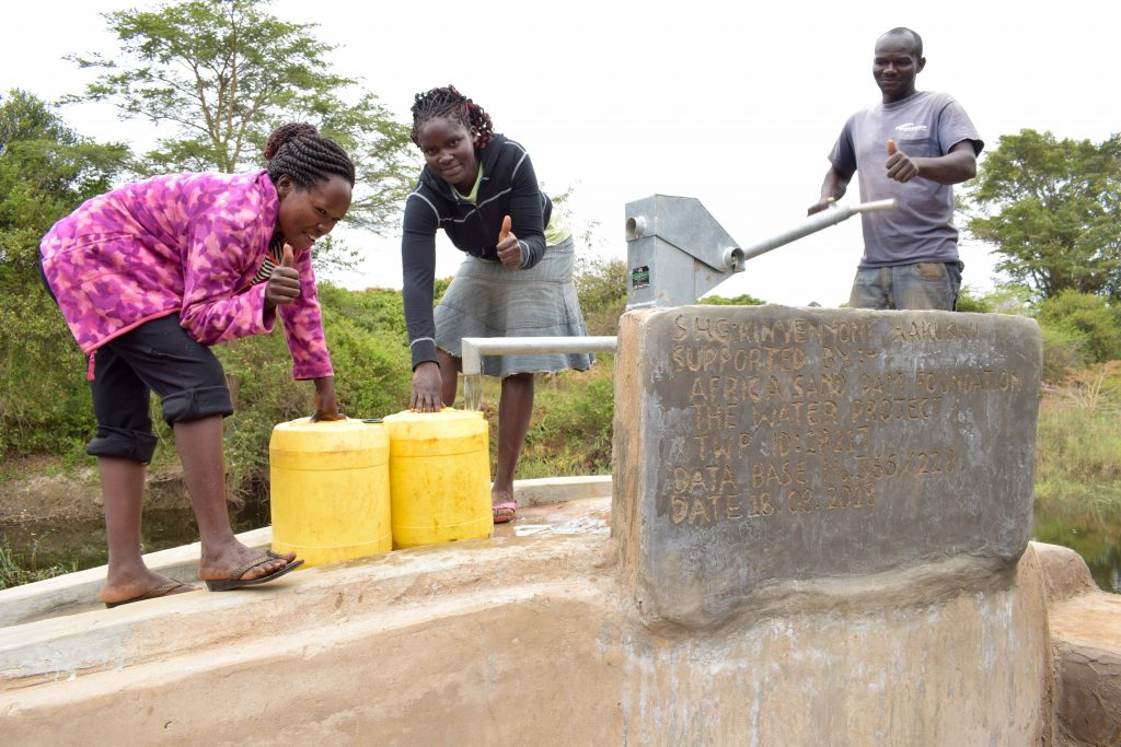 The Water Project : 13-kenya18217-finished-well