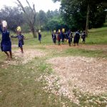 The Water Project: Shiru Primary School -  Students Bringing Water For Construction
