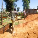 The Water Project: Jidereri Primary School -  Digging Latrine Pits