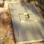 The Water Project: Chebwayi B Community, Wambutsi Spring -  Finished Sanitation Platform