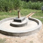 The Water Project: Kitali Community -  Completed Well Pad