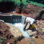 The Water Project: Shirakala Community -  Construction