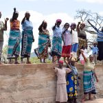 The Water Project: Katalwa Community -  Finished Sand Dam