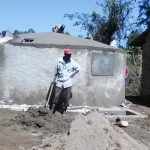 The Water Project: Makuchi Primary School -  Tank Construction