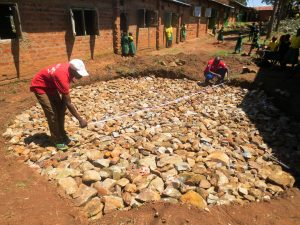 The Water Project:  Tank Foundation