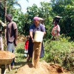 The Water Project: Luvambo Community B -  Delivering Sand
