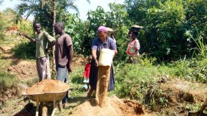 The Water Project:  Delivering Sand