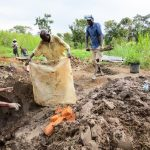 The Water Project: Muyundi Community, Ngalame Spring -  Spring Construction