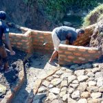 The Water Project: Emachembe Community A -  Spring Construction