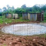The Water Project: Shikhondi Girls Secondary School -  Tank Construction