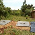 The Water Project: Matsakha Community, Siseche Spring -  Sanitation Platforms To Be Placed Over Latrine Pits