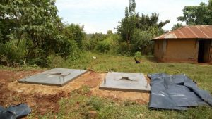 The Water Project:  Sanitation Platforms To Be Placed Over Latrine Pits