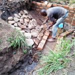 The Water Project: Emachembe Community -  Spring Construction