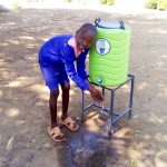 The Water Project: Makuchi Primary School -  Handwashing Station