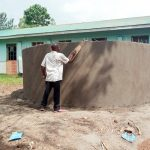 The Water Project: Madegwa Primary School -  Tank Construction