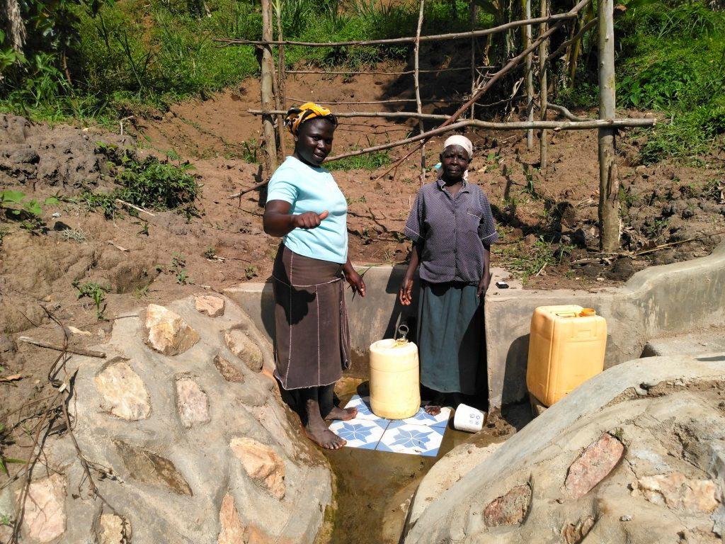 The Water Project : 18-kenya18154-finished-spring-protection