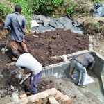 The Water Project: Emachembe Community, Hosea Spring -  Spring Construction