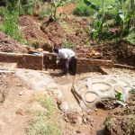 The Water Project: Irumbi Community A -  Spring Construction