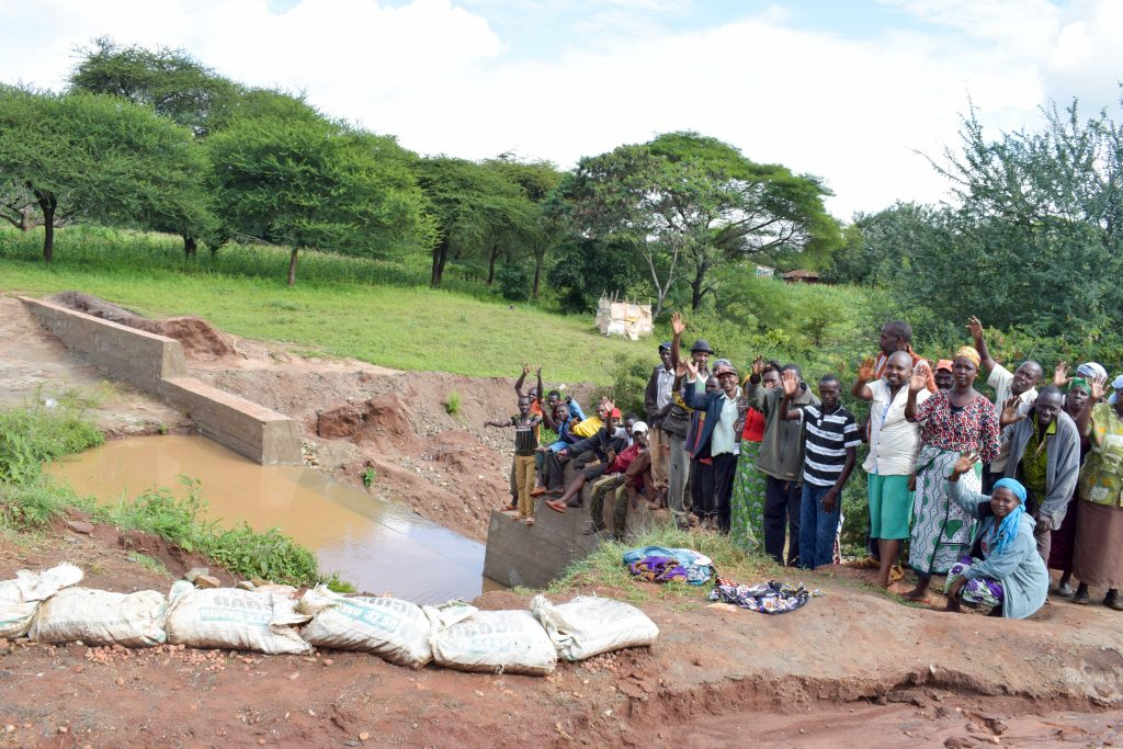 The Water Project : 19-kenya18183-finished-sand-dam