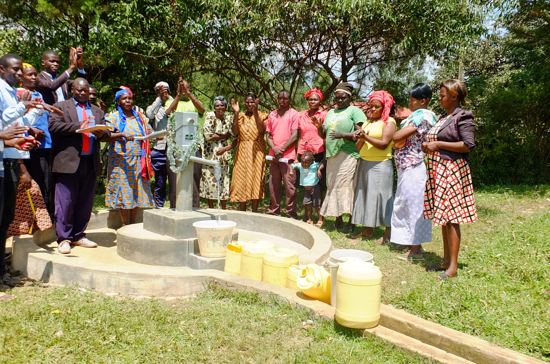 The Water Project : 19-kenya18285-handing-over-ceremony