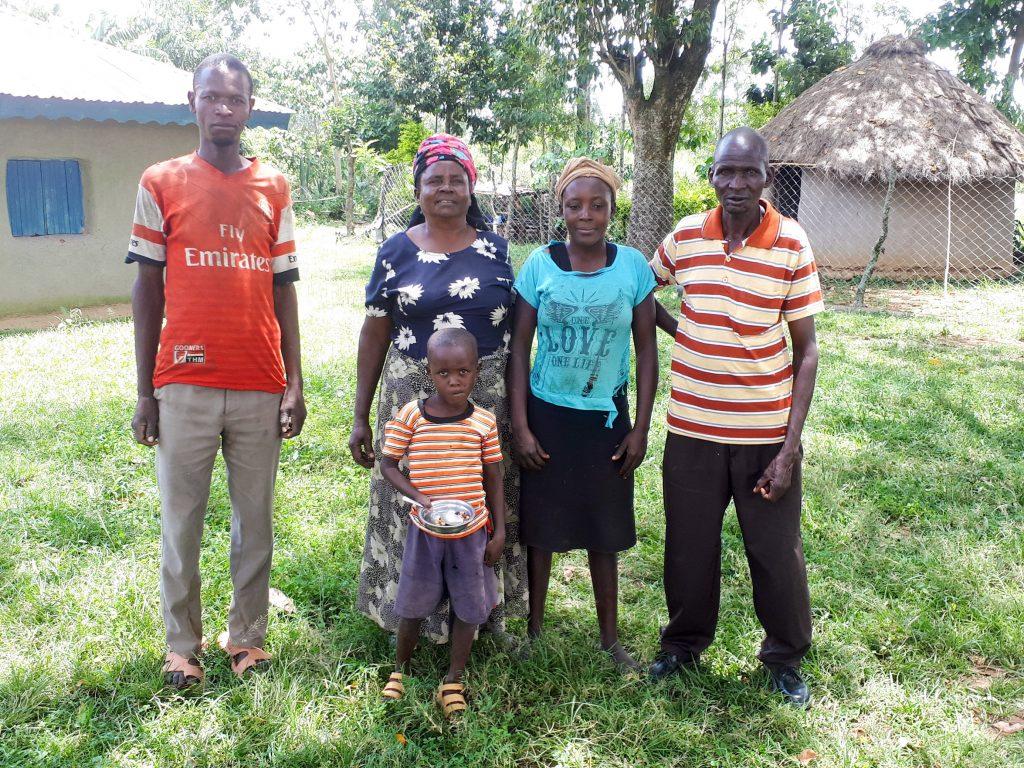 The Water Project : 2-kenya18126-matolo-family