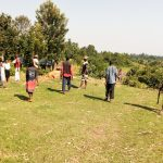The Water Project: Burachu B Community A -  Gathering Community Members For Training