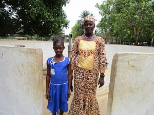 The Water Project:  Headteacher Kanu And Lamrana