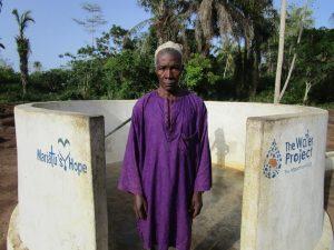 The Water Project:  Headman Sillah