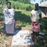 The Water Project: Emachembe Community -  Sanitation Platform