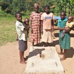 The Water Project: Emachembe Community, Hosea Spring -  Sanitation Platform