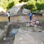 The Water Project: Ngitini Community -  Trenching