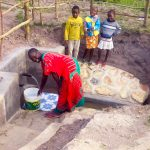 The Water Project: Chebwayi B Community, Wambutsi Spring -  Flowing Water