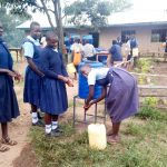 The Water Project: Shiru Primary School -  Handwashing Stations