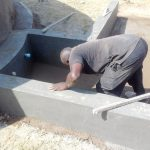 The Water Project: Joyland Special Secondary School -  Tank Construction