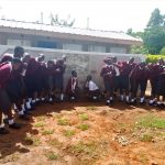 The Water Project: Imusutsu High School -  Finished Latrines