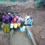 The Water Project: Handidi Community C -  Flowing Water