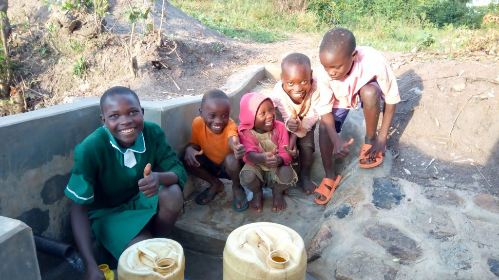 The Water Project : 22-kenya18134-flowing-water