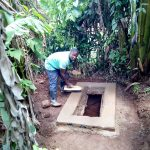 The Water Project: Irumbi Community A -  Getting The Pit Ready For A Sanitation Platform