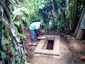 The Water Project:  Getting The Pit Ready For A Sanitation Platform