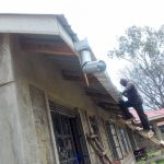 The Water Project: Joyland Special Secondary School -  Gutter Installation
