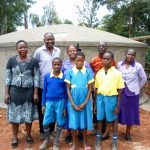 The Water Project: Eshilibo Primary School -  Finished Tank