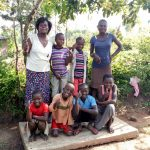 The Water Project: Burachu B Community, Maji Mazuri Spring -  Sanitation Platform