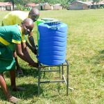 The Water Project: Madegwa Primary School -  Handwashing Stations