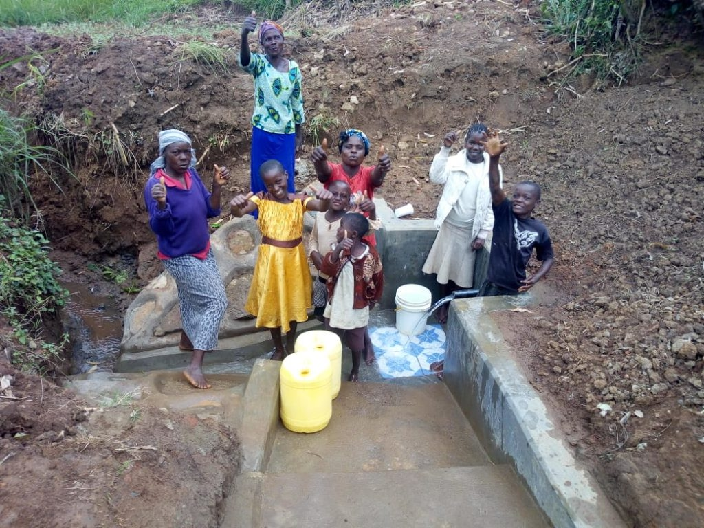 The Water Project : 25-kenya18127-flowing-water