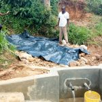 The Water Project: Luvambo Community B -  Backfilling