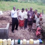 The Water Project: Emachembe Community, Hosea Spring -  Flowing Water