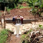 The Water Project: Irumbi Community A -  Flowing Water